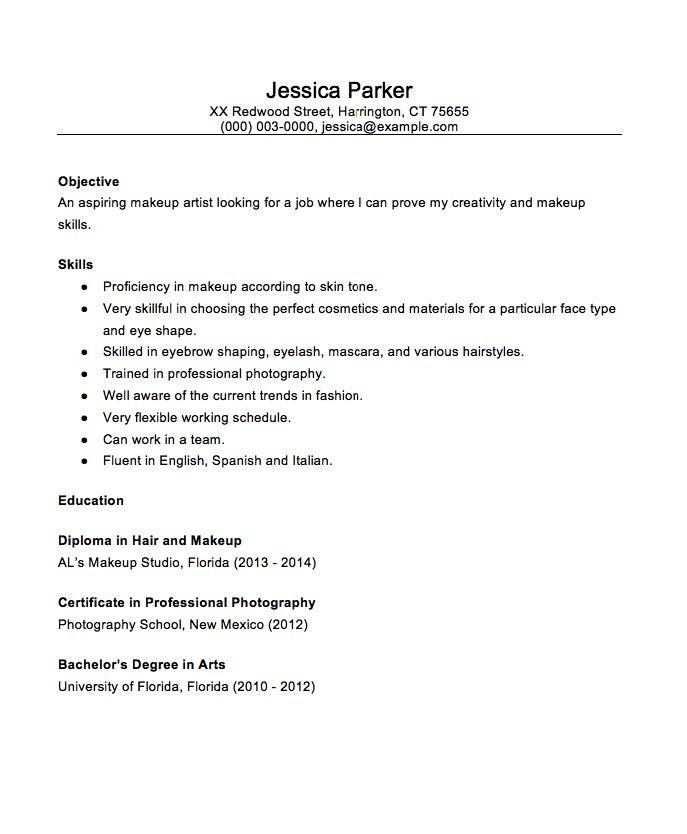 perfect resume example 2012
