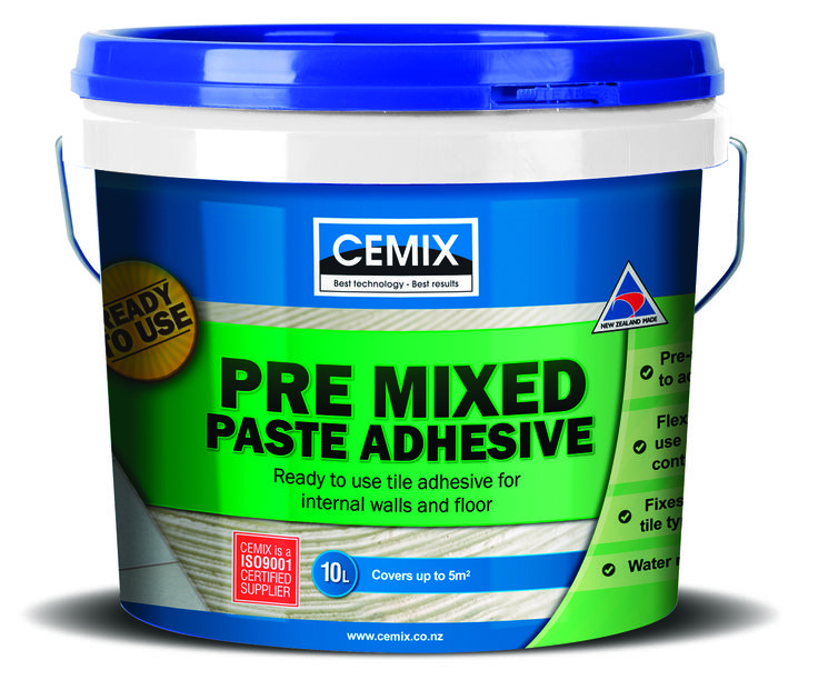 Bathroom Tiles Ideas Nz Cemix Pre Mixed Paste Adhesive Is A Diy Friendly Pre-mixed