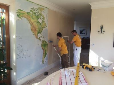 128 best images about World Map Wallpaper on Pinterest | World map mural, Vintage maps and The map