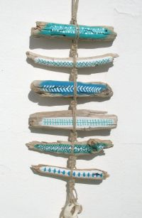 25+ best ideas about Painted driftwood on Pinterest ...