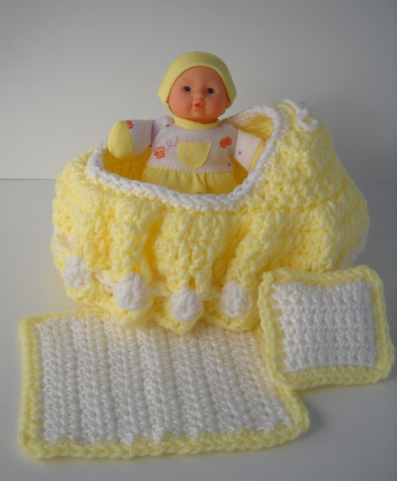 Cradle Purse Baby Doll Blanket And Pillow Baby Dolls