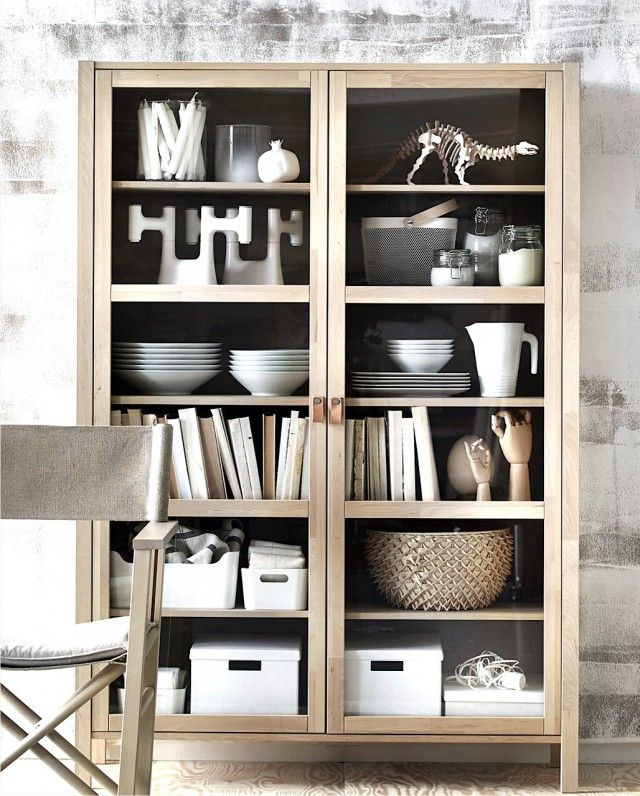 Buffetkast Modern Display Cabinet From The Upcoming #ikea #björksnäs