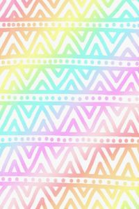 pastel rainbow aztec wallpaper  | wallpapersss ...
