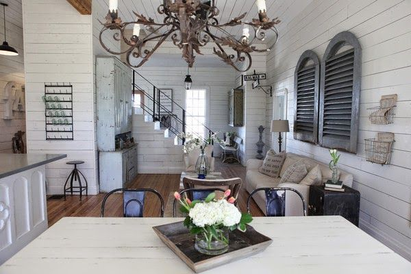 Rounded Kitchen Island Chip And Joanna Gaines Farmhouse | See More Images Of