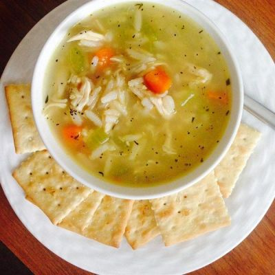 Chicken rice, Vegetable soups and The soup on Pinterest