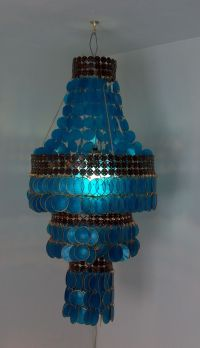 famous hand crafted Philippine capiz chandelier ...