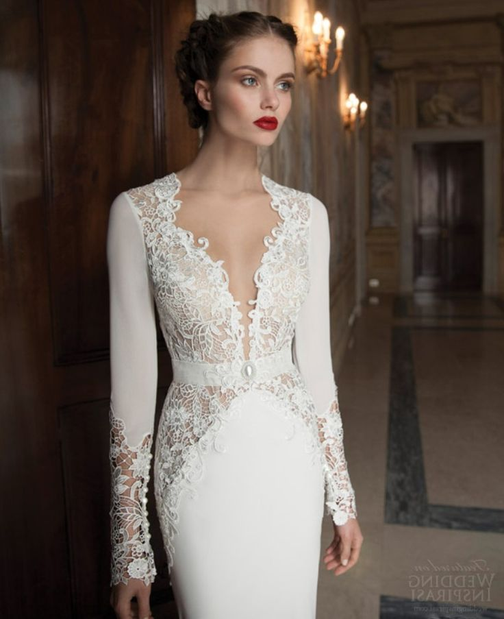 wedding dresses with sleeves for older brides