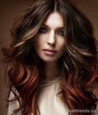 27 best images about Dark Brown Hair With Color Underneath ...