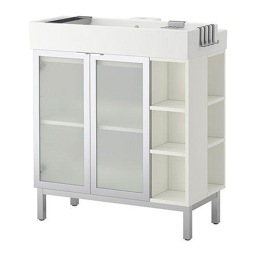Lillangen Sink Cabinet 2 Doors 2 End Units Ikea Shelf Like