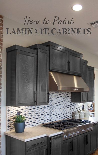 1000+ Ideas About Paint Laminate Cabinets On Pinterest | Painting
