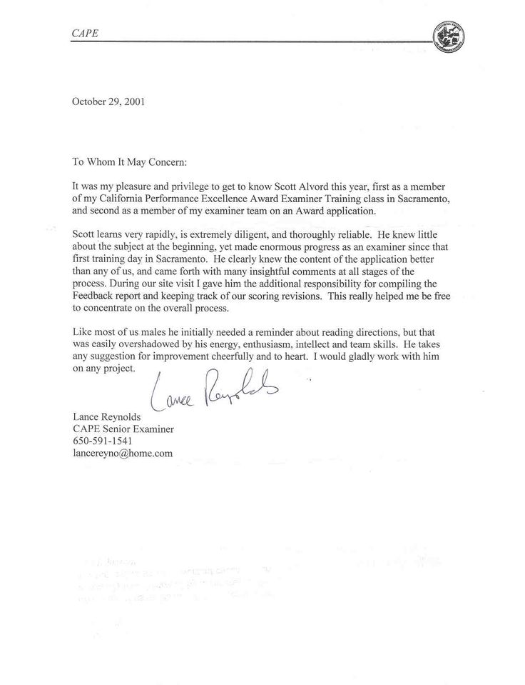 Example Of Reference Letter For Immigration | Free Resume Samples