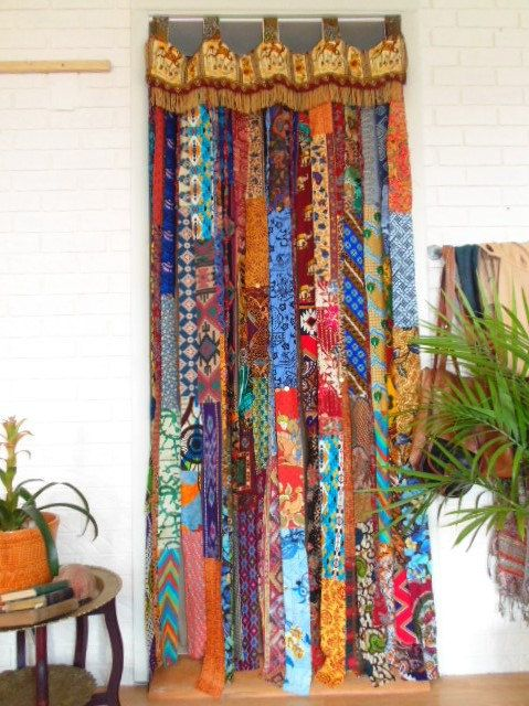 Door Curtian & Blackout French Door Curtain For Privacy