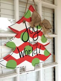25+ best ideas about Wooden door hangers on Pinterest
