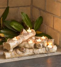 1000+ ideas about Log Candle Holders on Pinterest | Candle ...