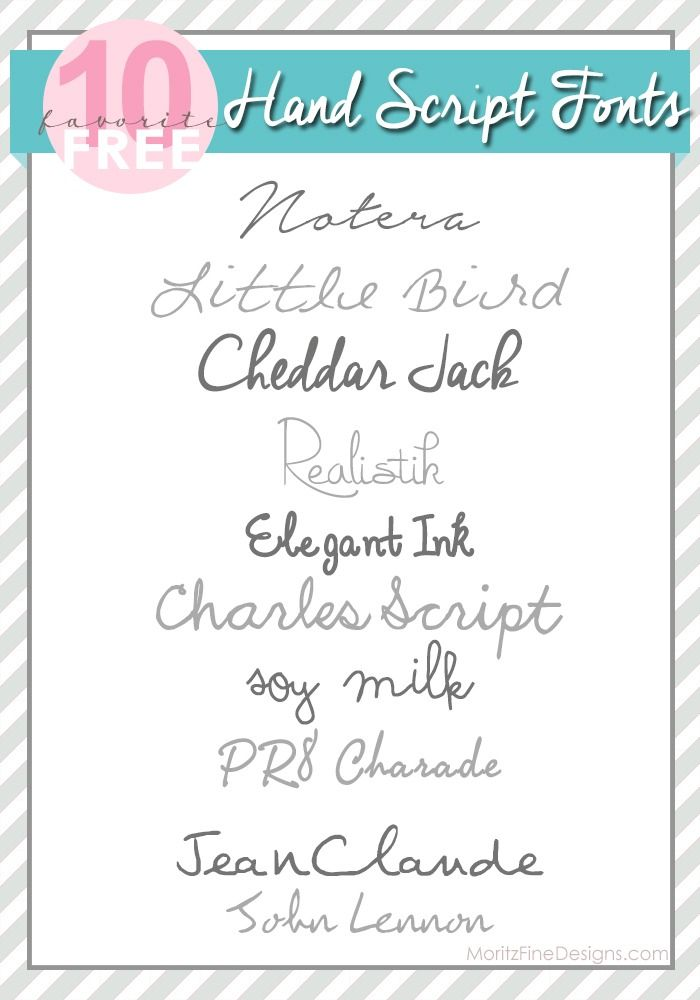 Invitation Handwriting Font Best Hand Script Fonts From Moritz Fine Blog Designs