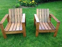 Best Rustic Outdoor Chairs ideas on Pinterest