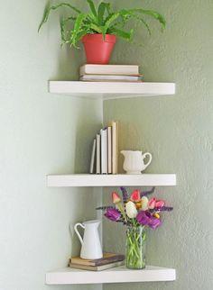 25 Best Ideas About Corner Shelves On Pinterest Spare