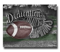 Football Decor, Football Art, Chalk Art, Chalkboard Art ...