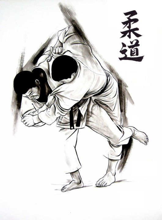 judo techniques diagrams