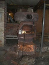 Antique coal Boiler | 1890 Sunbeam Coal Furnace Meets its ...