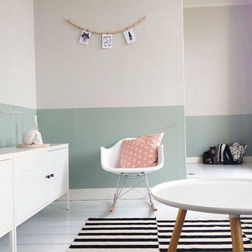 25+ best ideas about Half painted walls on Pinterest