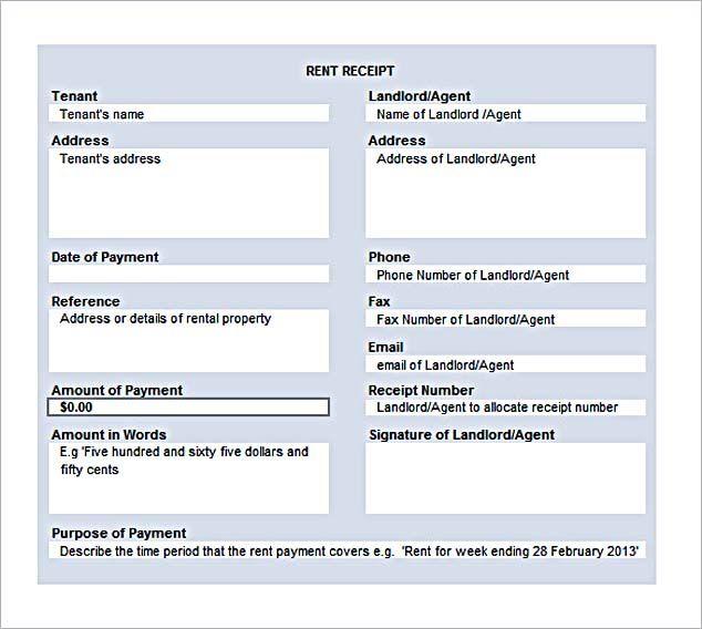 Více než 17 nejlepších nápadů na Pinterestu na téma Free Receipt - house rent receipt format