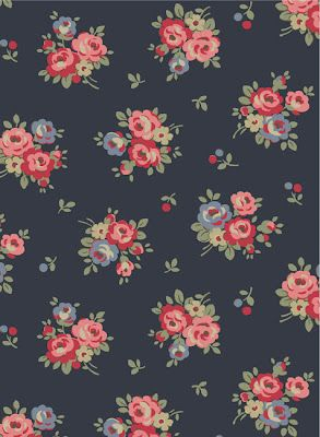 Love navy. Detest Cath Kidston, if this is hers I will have to let it go. Pretty...   Duvet ...