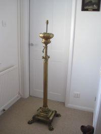 ANTIQUE FRENCH CAST BRONZE STANDARD LAMP | ebay finds ...