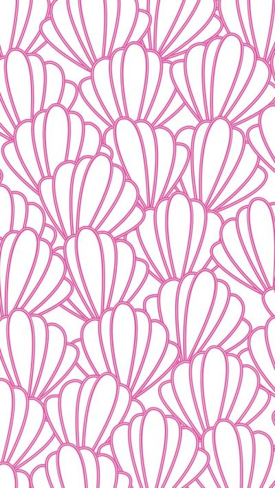 iPhone 5 wallpaper #preppy #seashells #pattern | iPhone backgrounds | Pinterest | Sea shells ...