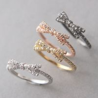 1000+ ideas about Bow Rings on Pinterest | Diamond bows ...