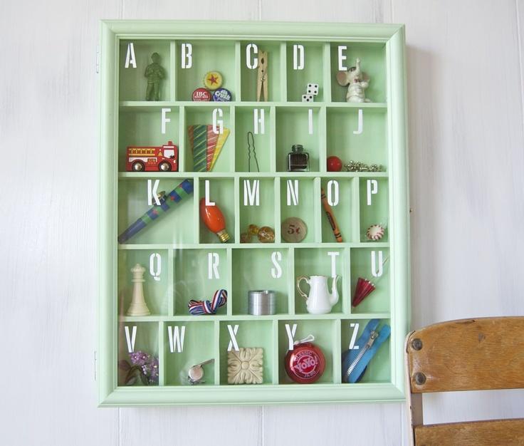 Make Your Own Custom Alphabet Shadow Box Tutorial Memory