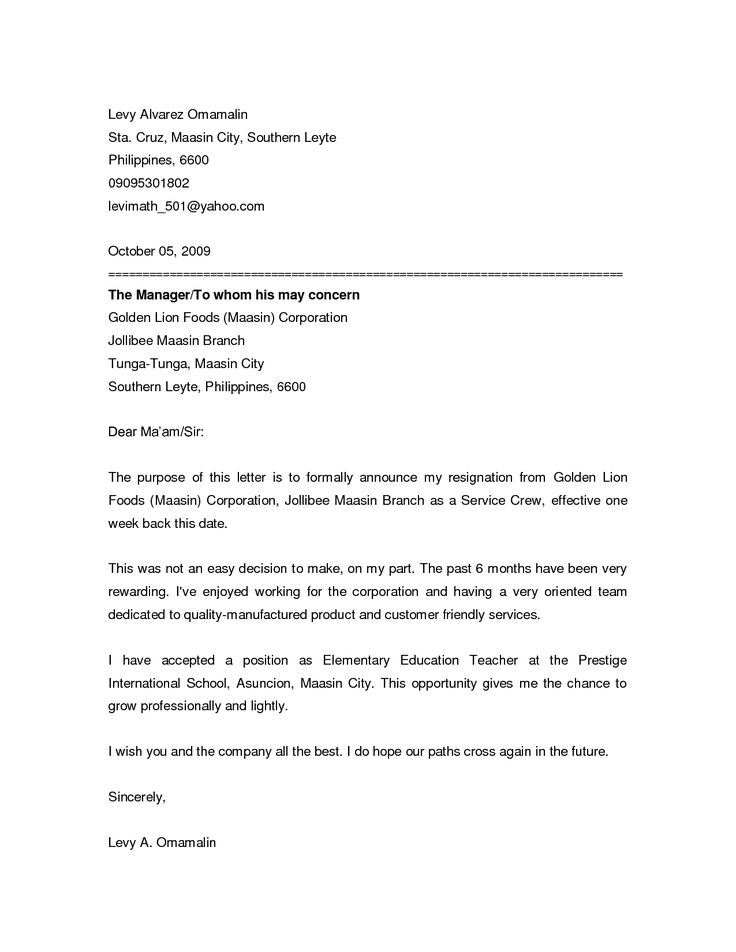 Resignation Letter Samples Download Pdf Doc Format 1000 Ideas About Resignation Letter On Pinterest Job