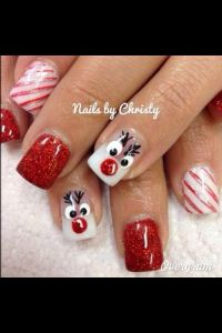 17 Best ideas about Christmas Nails on Pinterest   Holiday ...