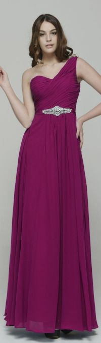 Fuchsia Bridesmaid Dresses. Fuchsia Bridesmaid Dress With