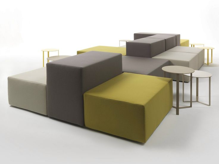 Modulares Sofa Set Flex Canapé Composable Modulable Lounge Collection Lounge By