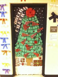 Fall Door Decorations For School | Door decorating contest ...