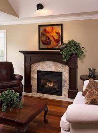 25+ best Black fireplace mantels ideas on Pinterest