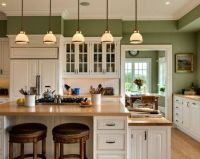 25+ best ideas about Green kitchen walls on Pinterest ...