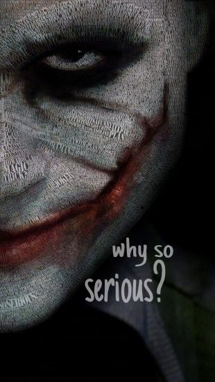 Joker. iPhone wallpaper | iPhone | Pinterest | iPhone wallpapers, The joker and Why so serious