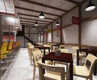 Asian Fast Food Restaurant Design   Interior Design ...