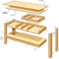 Best 25+ Workbench with drawers ideas on Pinterest