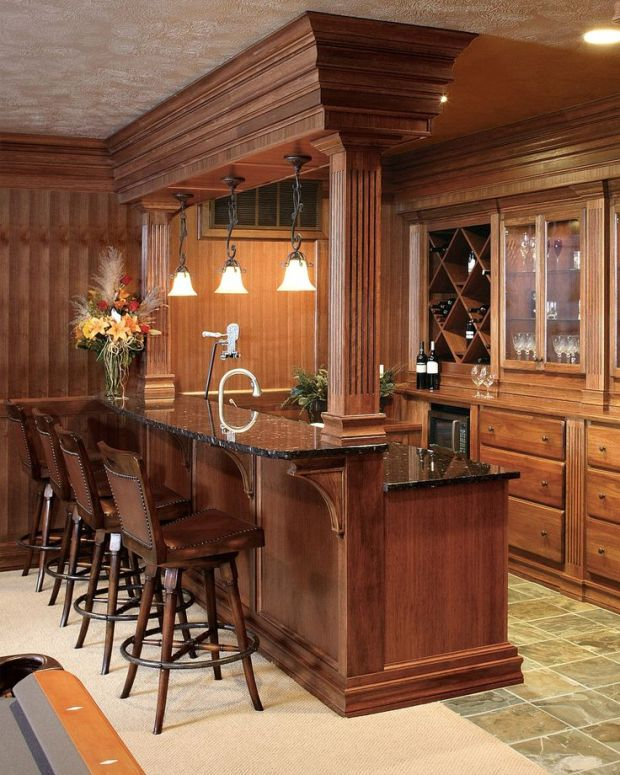 bar ideas finished basement home