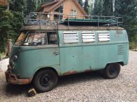 Vw camper with full roof rack | vw bus campers, splitty ...