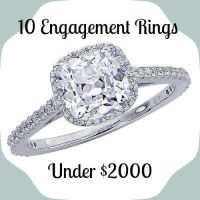 17 Best images about Engagement Rings Under $2000 on Pinterest