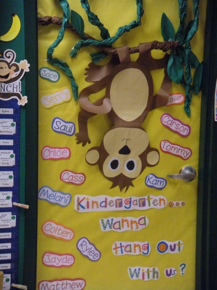 Monkey Theme Classroom
