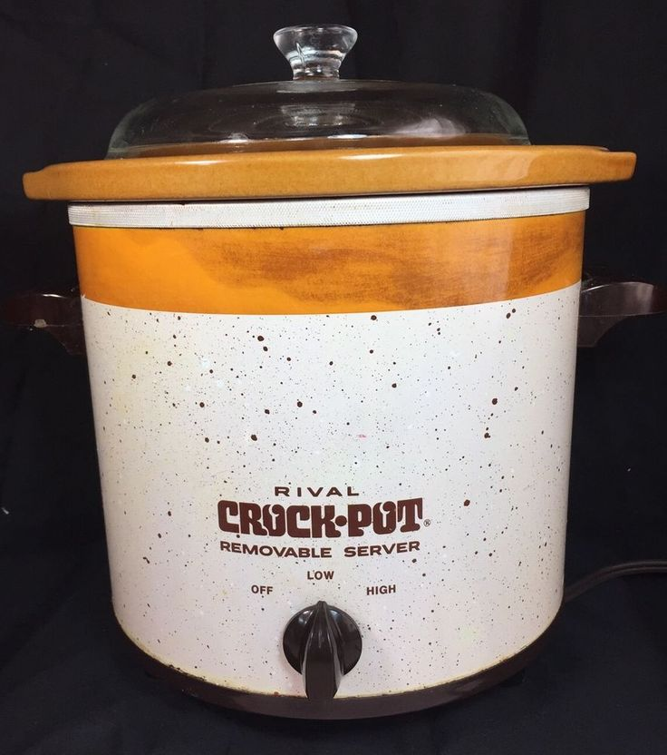 Ovenware Vintage Rival Crock-pot 3.5 Qt Slow Cooker Model 3150/2