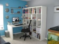 IKEA Expedit Workstation Decorating Ideas | Home Office ...