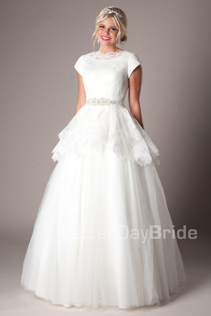wedding dress modest wedding dress best images about Wedding Dress on Pinterest Modest wedding dresses Modest wedding and Wedding dress sleeves