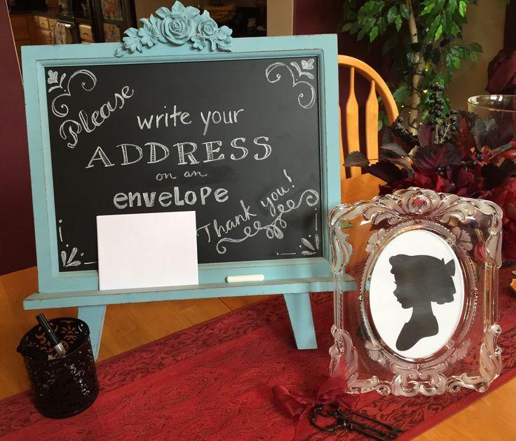 envelope decorations