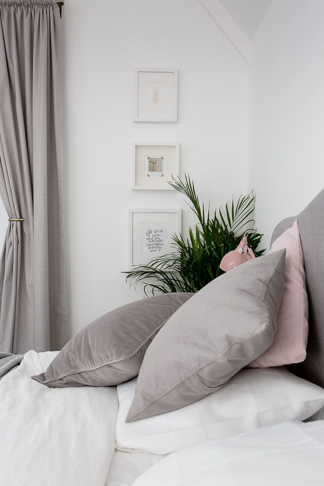 1000+ Ideas About White Grey Bedrooms On Pinterest | Sensi Candles
